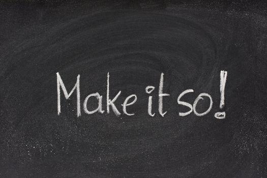 make it so command on blackboard