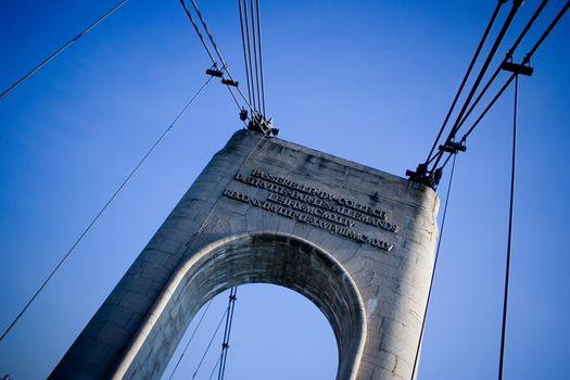 Nice perspective of the bridge