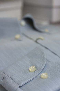 Clothing of a classic dress shirt