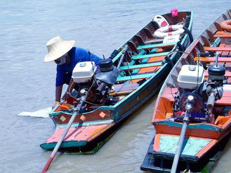 Two boats in Bangkok