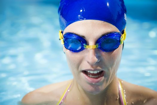Healthy lifestyle: this swimmer just won the contest