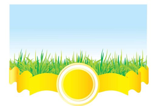 Grass vector background