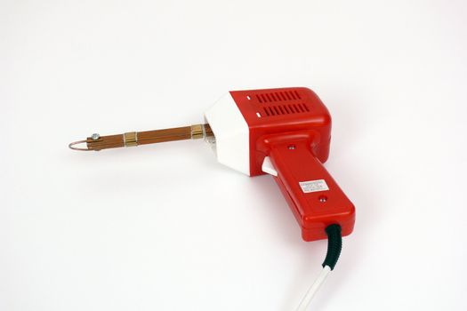 soldering iron red