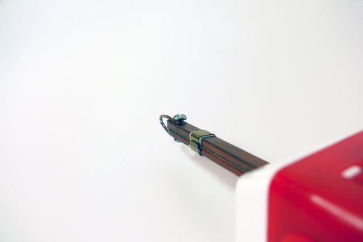 soldering iron close