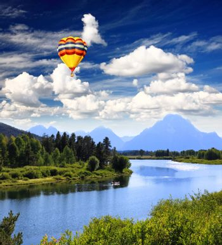 The Grand Teton National Park, USA