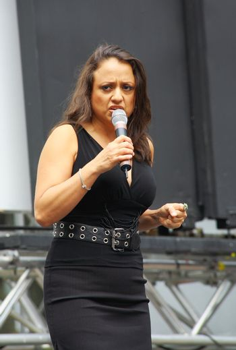 Singer and actress Natalie Toro