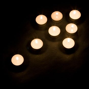 Candle arrow