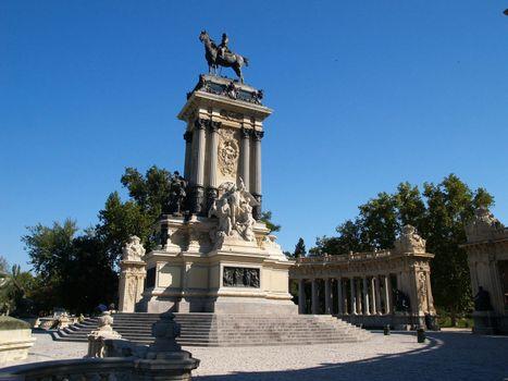 Park del Retiro in Madrid