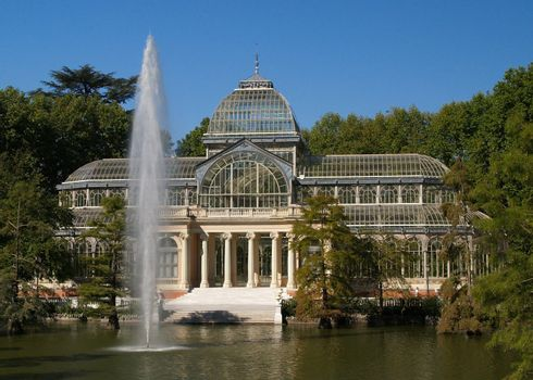 Glass Hall at Park del Retiro Madrid