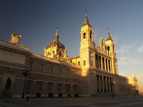 Campo del Moro (next to Palace Real) in Madrid