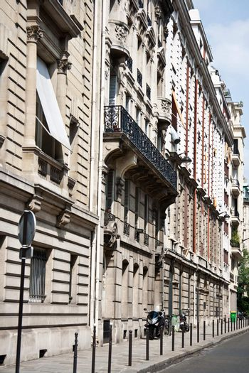 Paris France and classical residences