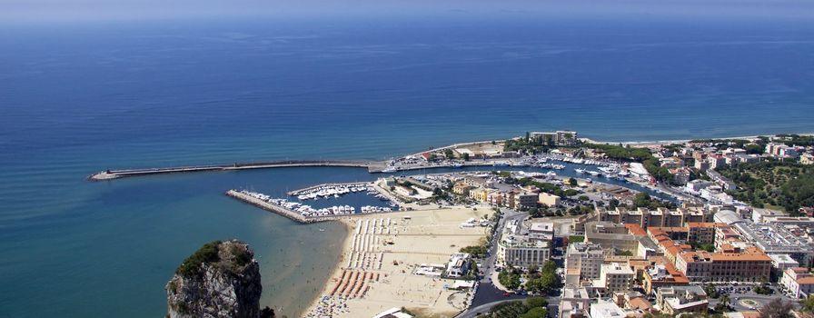 View of Terracina