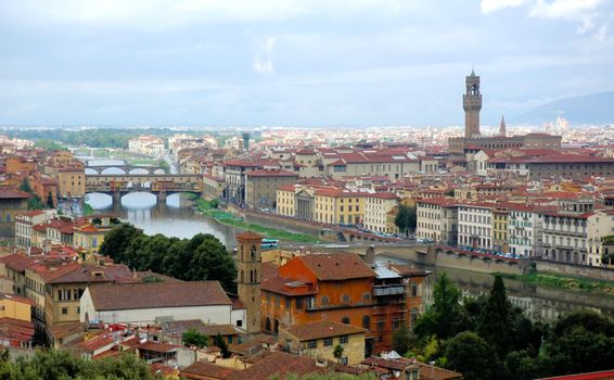 Firenze and Arno river