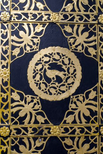 Detail of the gilded gates