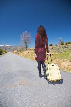 woman traveller