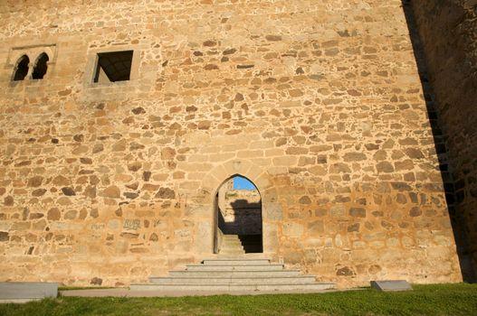 Barco village castle entry