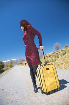 sexy traveller female