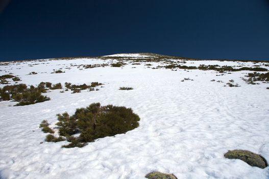 snow slope