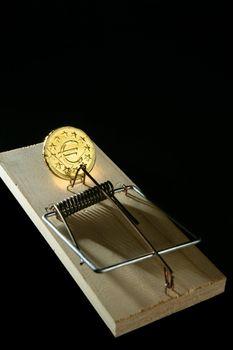 euro currency business metaphor