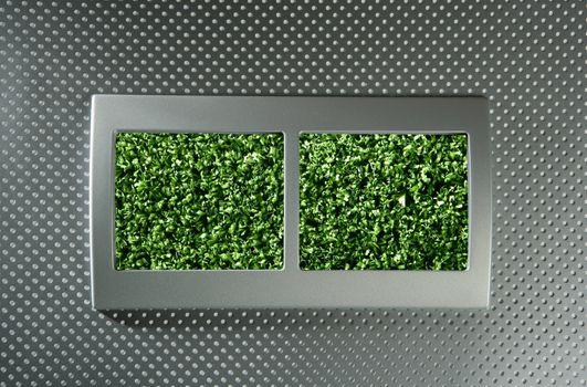 Ecological renewable electric energy metaphor
