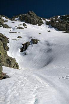 snow soft slope