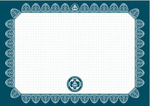 vector blank certificate