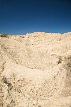 desert mountains in navarra
