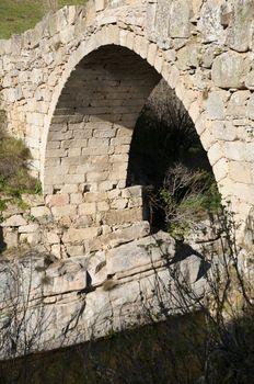 arch of ancient bridge