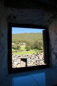 windows rural views