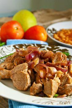 Arabic meat food
