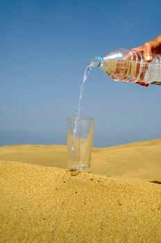 Fresh water and desert