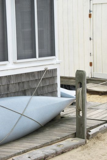 Cape Cod cottages canoes and ropes