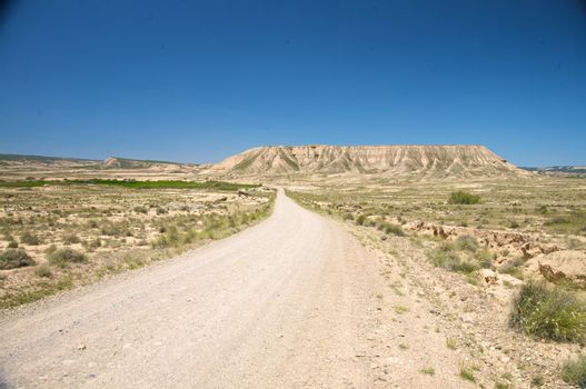 desert road to the mountain