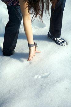 taking snow in salamanca