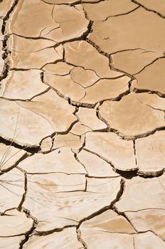 broken soil detail