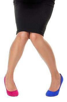 Wrong shoe