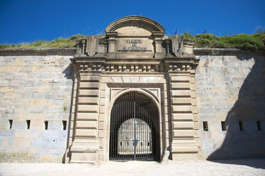 fortress of pamplona