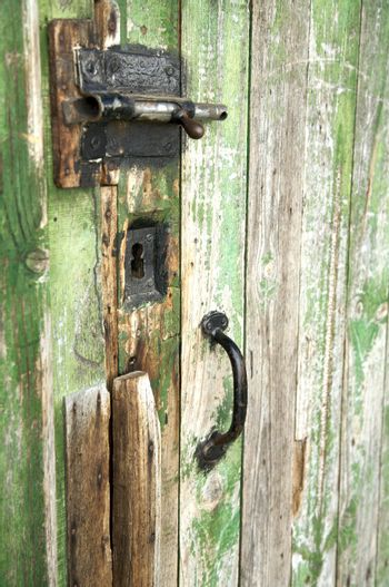 latch lock and handle
