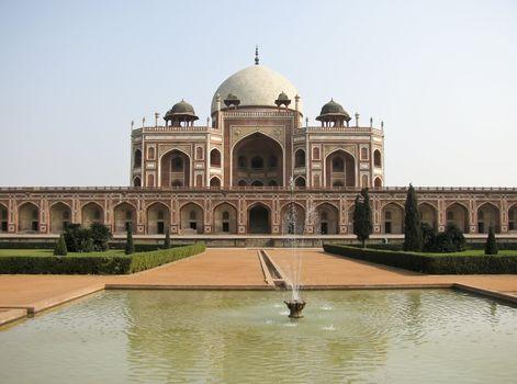 Jama Masjid Mosque in Delhi India