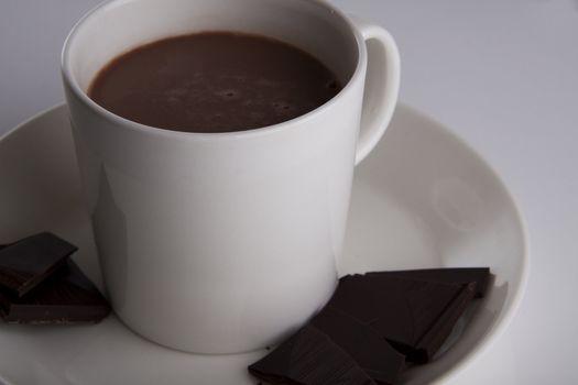 Luxury cup og hot chocolate