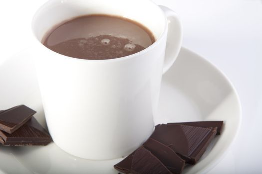 Hot chocolate in style