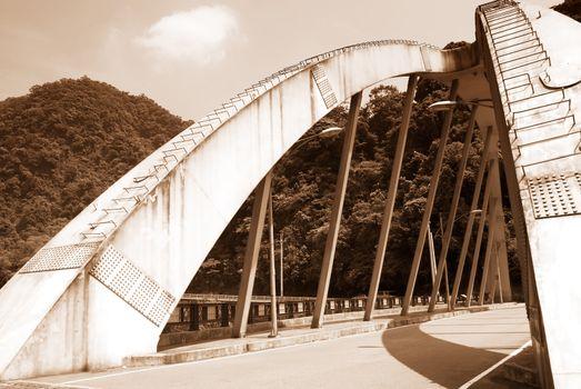 big bridge on the land