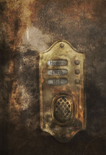 Doorbell to heaven and hell
