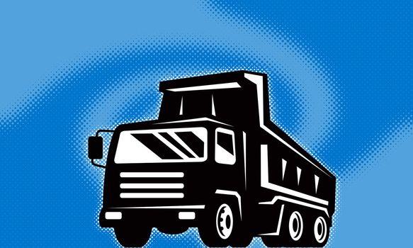 construction dump truck lorry