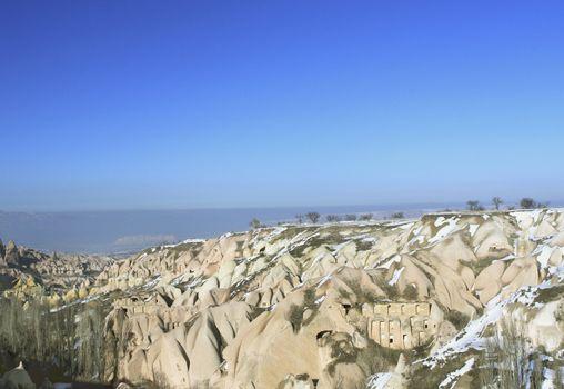 Underground cities in Capadocia Turkey