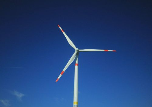 Electrical energy generated by oversize wind mill