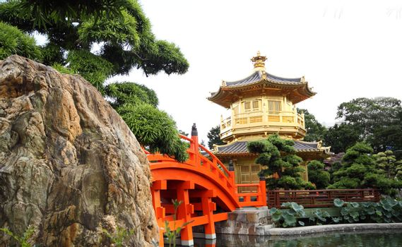 The Pavilion of Absolute Perfection in the Nan Lian Garden, Hong