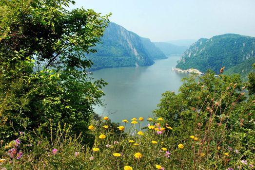 Danube canyon