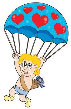 Parachute cupid