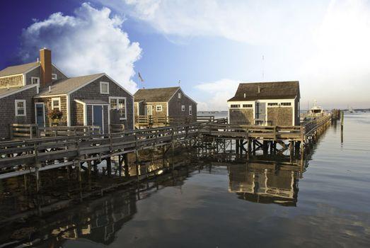 Nantucket Architecture, Massachusetts
